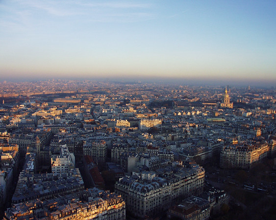 View Atop the Eiffel Tower