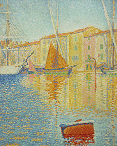 The Red Buoy by Paul Signac, Musée d'Orsay