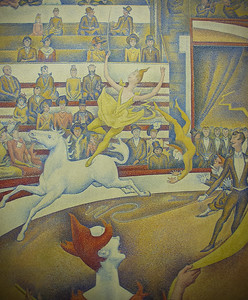 The Circus by George Seurat, Musée d'Orsay