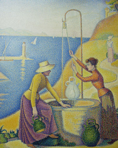Women at the Well by Paul Signac, Musée d'Orsay