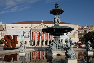 Praça de D. Pedro IV, Rossio Square