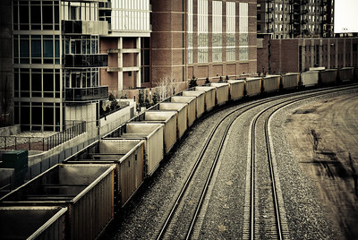 Train Tracks Near Union Station