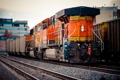 Train Tracks Near Union Station
