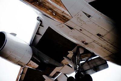 Boeing 767 Landing at LAX