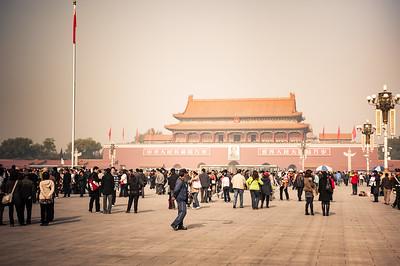 Tiananmen Square 天安門