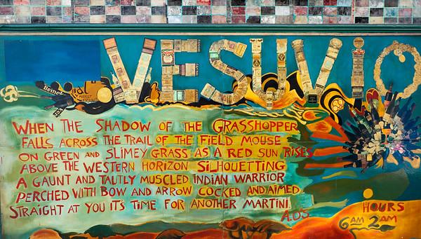 Vesuvio Café, North Beach