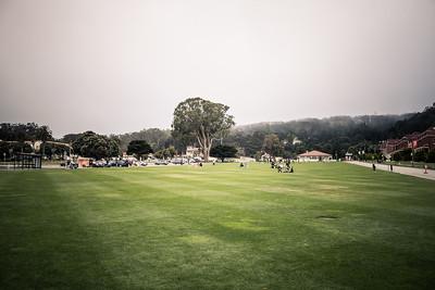 Main Parade Ground, the Presidio