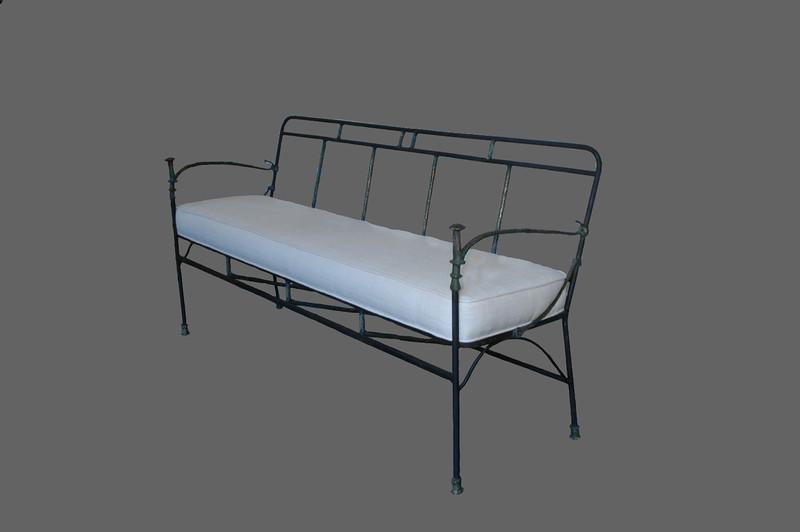 Bronze Giacometti style new sofa.