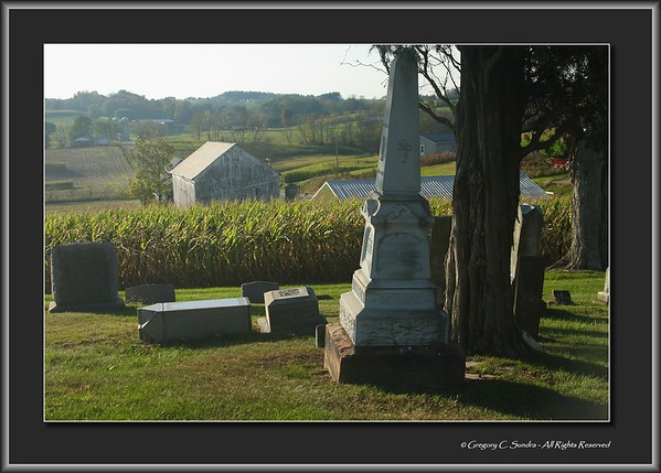 Amish Country Cemetery