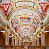 "<font size=""3""><i>Venetian Arcade</i></font> <font size=""1"">Main marble and fresco arcade,  The Venetian Hotel and Casino Las Vegas View looking toward the lobby from the casino</font><br>"