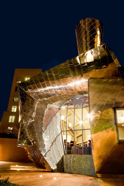 "<font size=""3""><I>Random Act of Architecture</I></font> <font size=""1"">The Stata Center at Massachusetts Institute of Technology Cambridge, Mass.</font><br>"