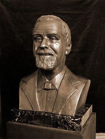 James Irvine I - Bronze Sculpture by Judith Bland