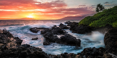 Sunset Over Kahoolawe