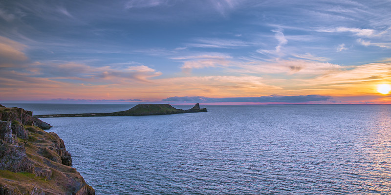 Worms head sunset