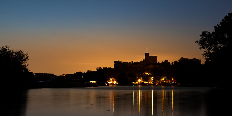 The Castle before Dawn