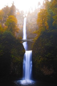 Autumn at Multnomah Falls