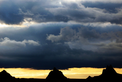 Buttes and Clouds
