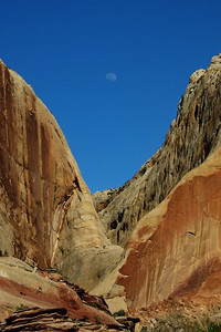 Lower Muley Twist Canyon and Moon