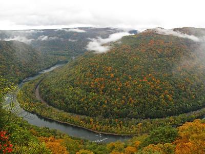 New River Gorge National River, West Virginia October 2011