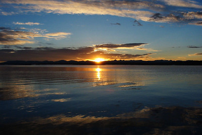 Yellowstone Lake Sunrise