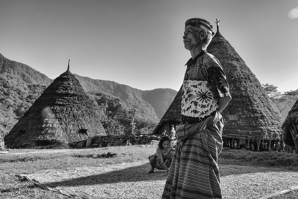 Wae Rebo Traditional Village in Flores, Indonesia