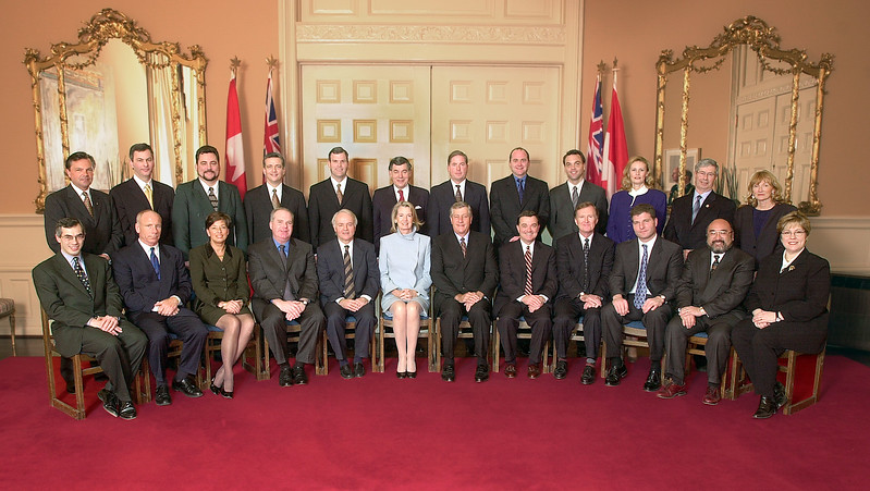 New Ontario Cabinet February 14, 2001