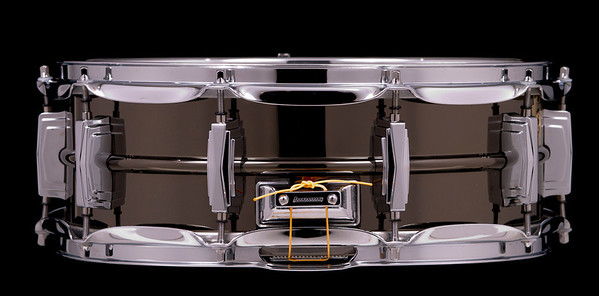 Ludwig,  Snare, Drum,  Black, Beauty, Large, Keystone