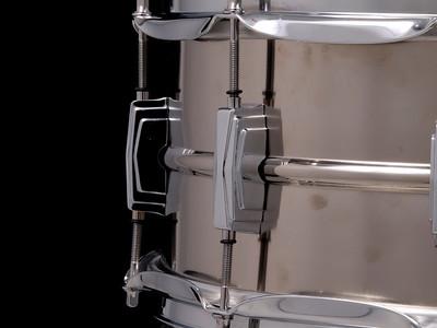 Ludwig,  Snare, Drum, Ronn, Dunnett, L2006, Chief, Titanium, Bill,
