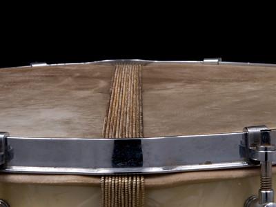 Lefima, vintage, snare, drum, White Marine, Pearl