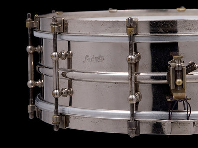 Ludwig, Pioneer, Nickel, Brass, All-Metal, Separate, Tension