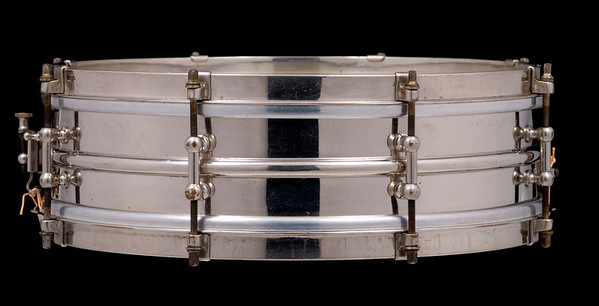 Ludwig, All-Metal, Brass, Heavy, Pioneer, Nickel