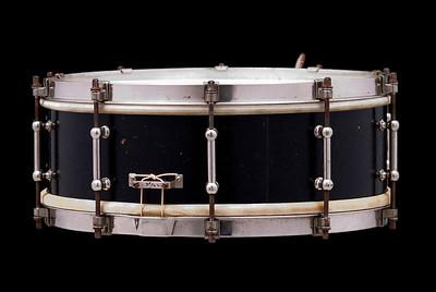 Ludwig, Standard, Mahogany, Black, Ebonized, Professional, snare