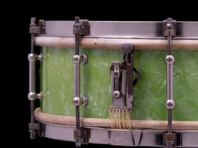 Ludwig, Professional, standard, Emerald, green, pearl, snare