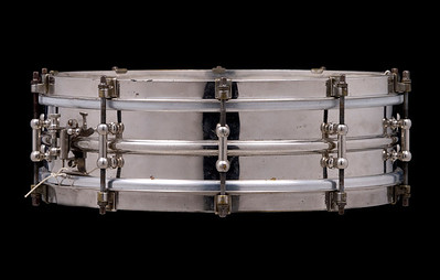 Ludwig, All-metal, Seperate-tension, snare, brass, nickel, heavy, two-piece