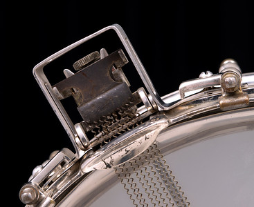 Ludwig,  tube lug, Super-Ludwig, Nickel, Brass,  Heavy