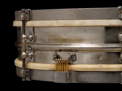 Ludwig, drum, All-Around, Nickel, Brass, Tube lugs, Calf heads