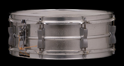 Ludwig, Acrolite, Vintage, Snare, Drum, Keystone, prototype, proto, aluminium