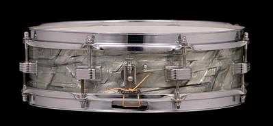 Ludwig, Downbeat, Vintage, Snare, Drum, Keystone, Sky, Blue, Pearl