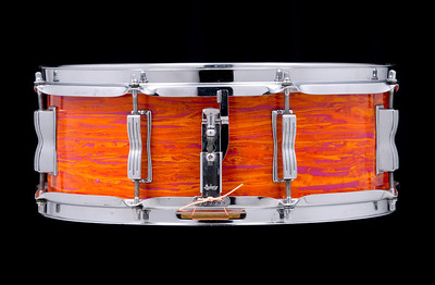 Ludwig, Jazz, Festival, snare, drum, Mod, Orange, P-83, vintage