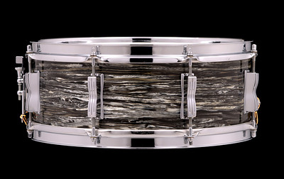 Ludwig, Jazz, Festival, Vintage, Snare, Drum, Black, Oyster, Pearl, Beatles, Ringo, Starr