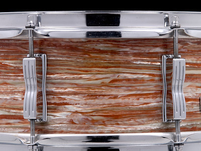 Ludwig, Jazz, Festival, snare, drum, Oyster, Pink, Pearl, P-83, vintage,