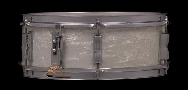 Ludwig, Pioneer, Vintage, Snare, Drum, Keystone, White, Marine, Pearl