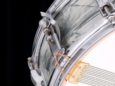 Ludwig, Pioneer, Vintage, Snare, Drum, Keystone, Sky, Blue, Pearl