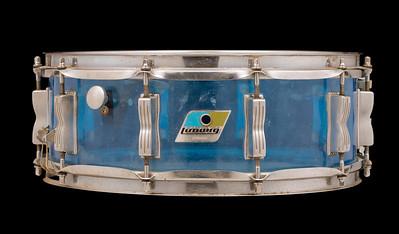 Ludwig, Vistalite, Jazz, Festival, Vintage, Snare, Drum, B/O, Blue, Olive, Blue, Ken, Gudman, Helle, Fastrup