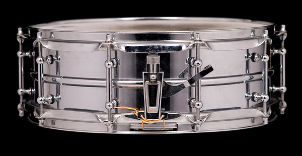 Ludwig, Vintage, Snare, Drum, Brass, Edition, Supraphonic, tube