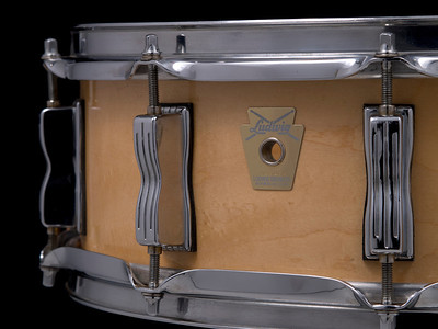 Ludwig, Classic, Vintage, Snare, Drum, Large, Keystone