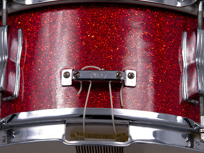 Ludwig, WFL, Porto, Pak, Classic, Red, Sparkle, Snare, Drum