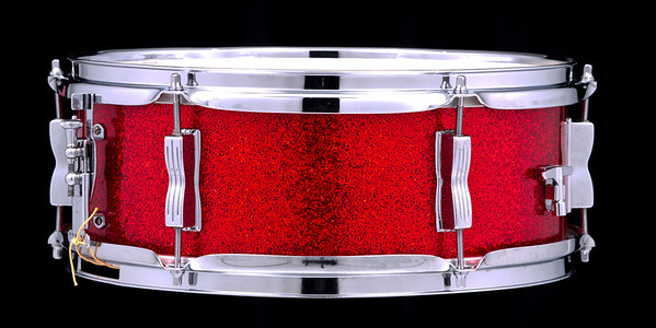 Ludwig, Transition, Red, Sparkle, Snare, Drum