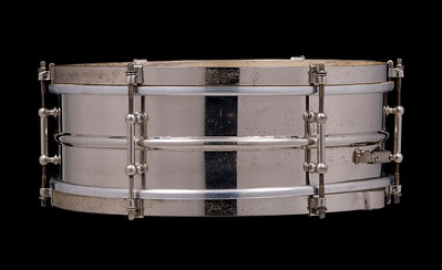 Ludwig, WFL, Ideal Snare, Drum, Brass, Nickel