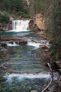 Falls on Johnston Creek
